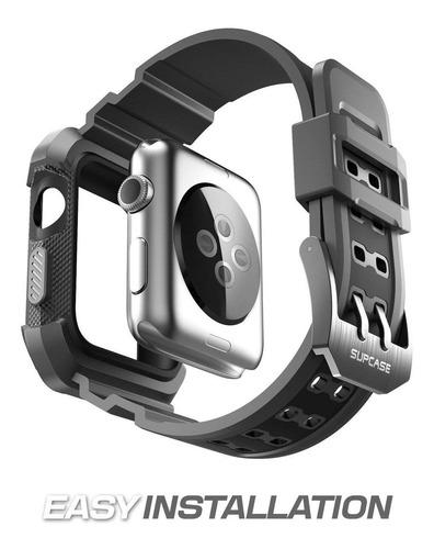 case + pulseira supcase 42mm gold apple watch series 1/2/3