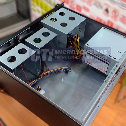 case rack con fuente para servidores y uso industrial