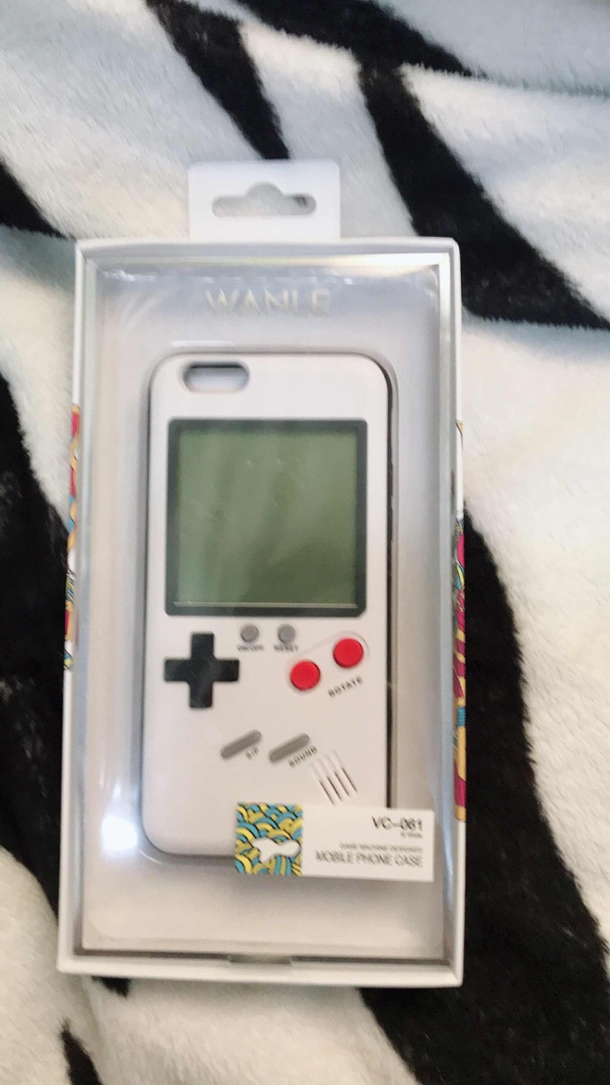 Case Retro Game Iphone 6s 7 8 Plus Consola Juegos Tetris S 34 00