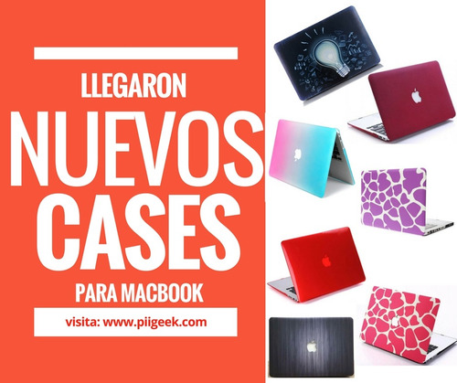 case rigido macbook pro retina 15 pulgadas