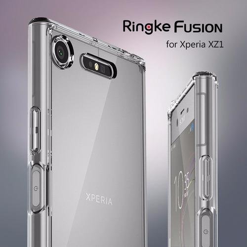 case ringke fusion xperia xz1 xz1 compact traido de usa