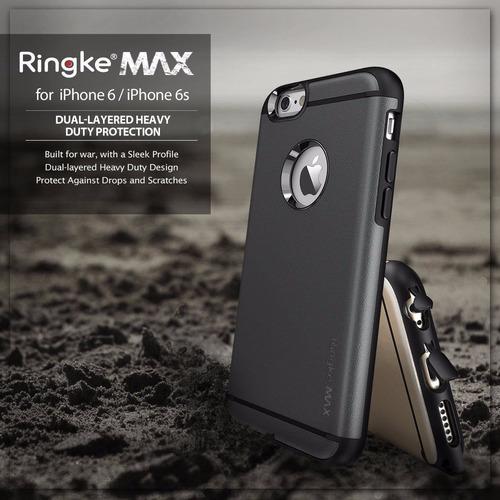 case ringke max gun metal - iphone 6/6s