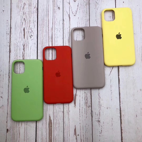 case silicona apple iphone 11, 11 pro y 11 pro max