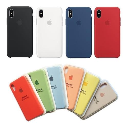 case silicona iphone 5s, se, 6, 6s, 6 plus, 7, 8, 8 plus, x