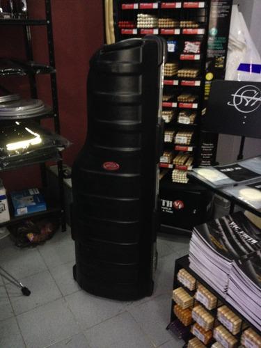 case skb para stand modelo hard golf travel  con ruedas