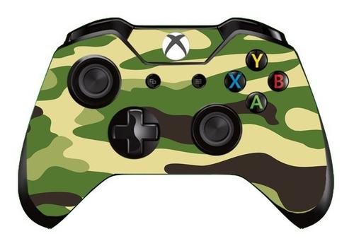 case skin adesivo p/ controle xbox camuflagem