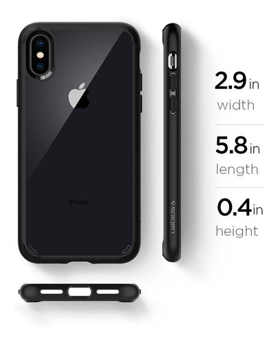 case spigen ultra híbrido para iphone x (2017),  xs, xs max