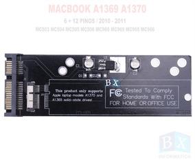 Case Ssd Macbook A1369 A1370 2010 2011 12 + 6 Pinos Sata