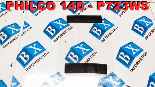 case suporte plástico do hd philco 14d p723ws