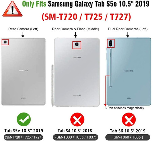 case teclado galaxy tab s5e keyboard s4 t830 s6 t860 2018-19