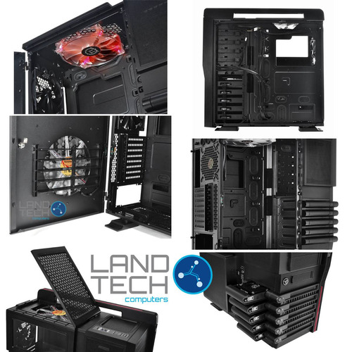 case thermaltake level 10 gt gamer extreme 4 fans full tower