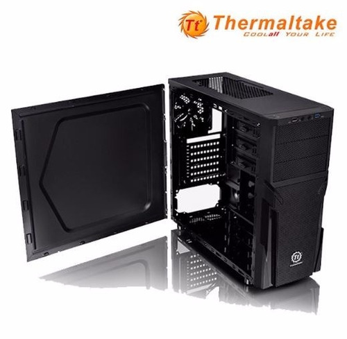 case thermaltake versa h21, usb 3.0 + f real - envio gratis