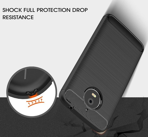 case tpu anti golpes compacto moto e4 plus