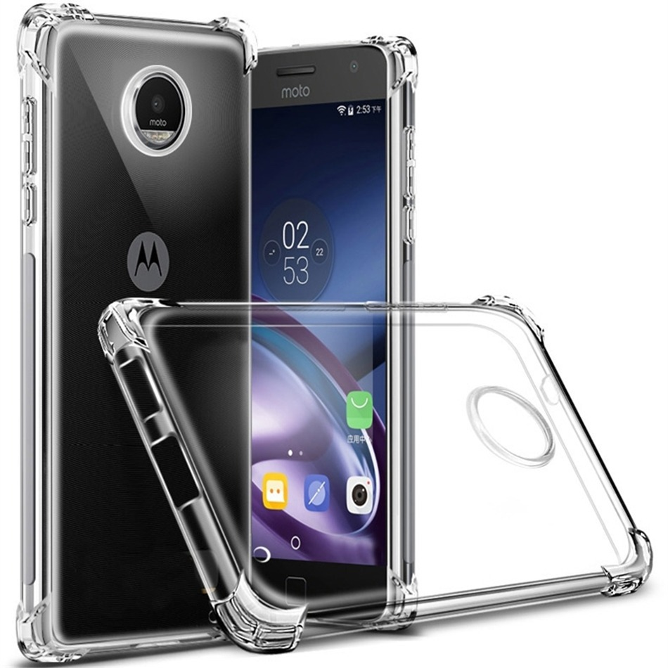 reputable site 8d81d e46d3 Case Transparente Anti Shock Motorola Moto G 5s Plus 5.5