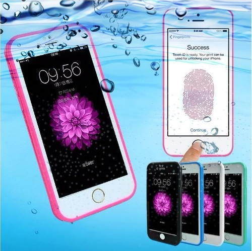 case waterproof a prueba agua iphone 5 5s 6 7 6 plus 7 pl 8