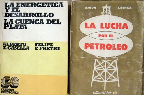 casella la energética desarrollo y otro 2 libros no envio