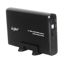Enclosure Agiler Agi-6336 Para Disco Duro 3.5 De Sata A Usb