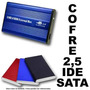 Cofre Case Para Disco Duro Ide Ó Sata 2.5 Usb Hd Notebook