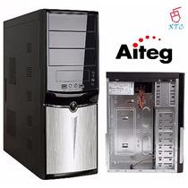 Case Computadora Atx Aiteg Con Fuente De Poder 600w Xtc