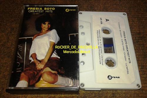 caset fresia soto, greatest hits, sello arena, nueva ola