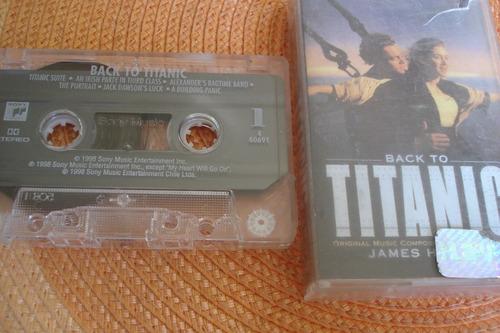 caset music back to titanic