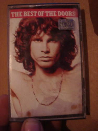 caset original de the best of the doors rock metal