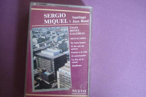 caset sergio miquel y santiago jazz band