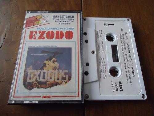 caset soundtrack bso éxodo exodus, ed. época, como nuev0