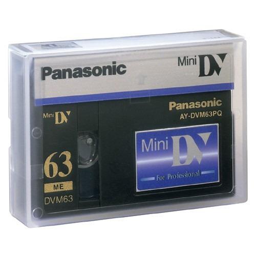 caset video digital panasonic minidv pq63 uso profesional