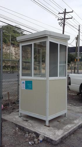 caseta, cabina de vigilancia
