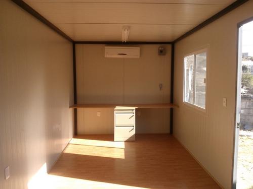 caseta oficina móvil 2.50x12.00m p/obra - renta o venta!
