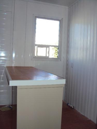 caseta oficina móvil 2.5x7.4m p/obra - renta o venta!