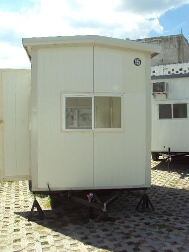 caseta oficina móvil 2x3m p/obra - renta o venta! semi-nueva