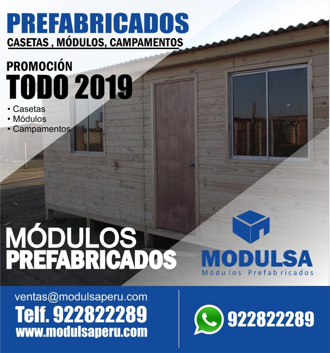Casetas De Vigilancia Módulos Prefabricados Madera En Lima