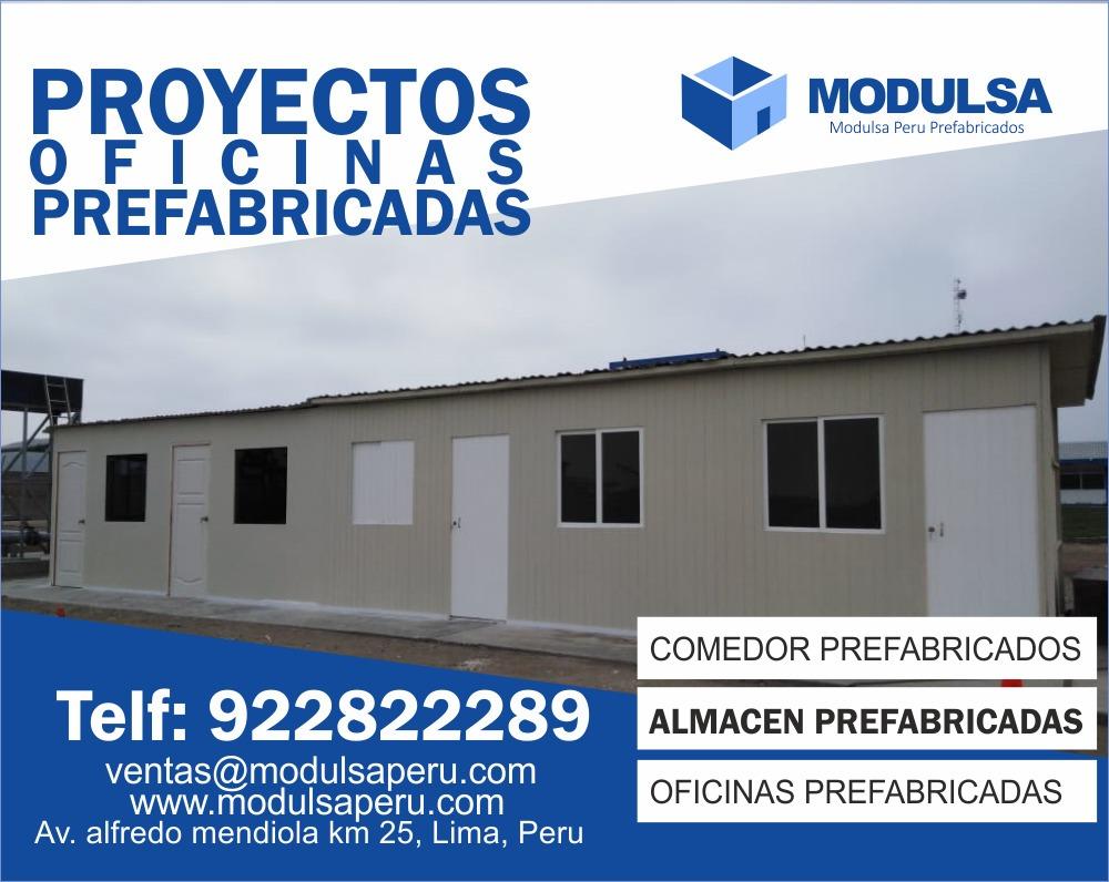 casetas modulares, casetas espacios prefabricados para obra