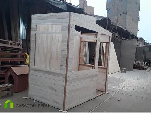 casetas prefabricadas de madera para vigilancia, casacomperu