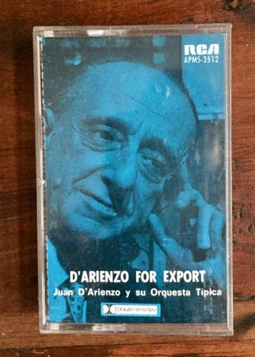 casete d' arienzo for export. tangos