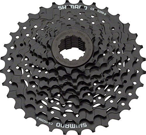 casete shimano alivio 9- velocidad montaña bicicleta - cs -