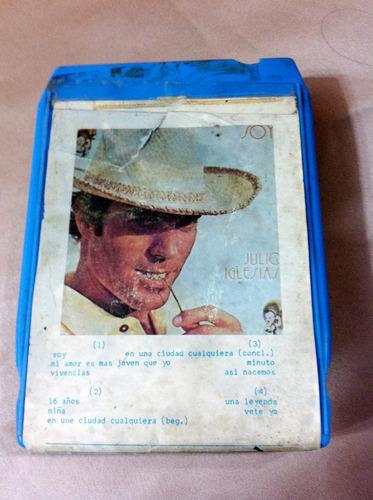 casette vintage 8 track julio iglesias
