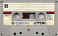 casettes de cinta magnetofonica usados