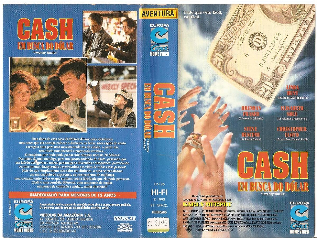 Cash Em Busca Do Dolar Brendan Fraser - R$ 35,00 em Mercado Livre