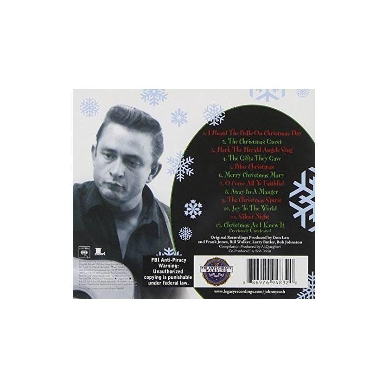 Cash Johnny Christmas With Johnny Cash Usa Import Cd Nuevo - $ 539 ...