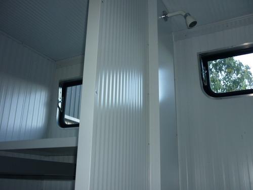 casilla 2 camas paneles térmicos poliuretano cheques