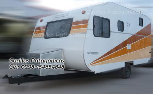 casilla casa rodante patagonica 6 personas apta cordillera
