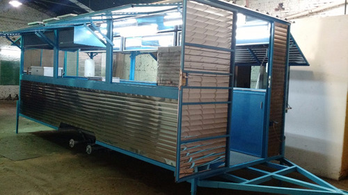 casilla gastronomica full 6mts!. food trailer
