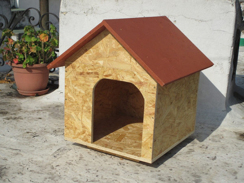 casilla para perro con techo desmontable