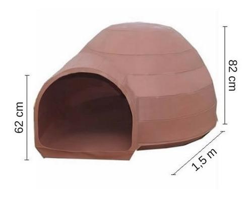 casilla para perro - tankes - grande. modelo tipo iglu.