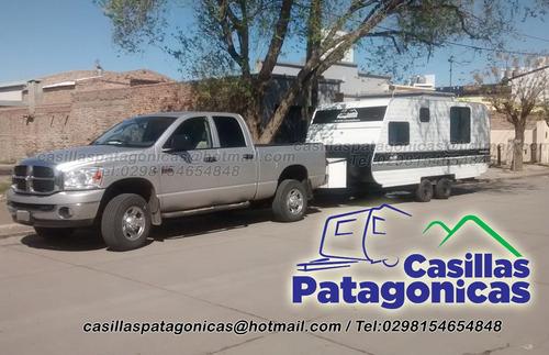 casilla patagonica doble eje para la cordillera