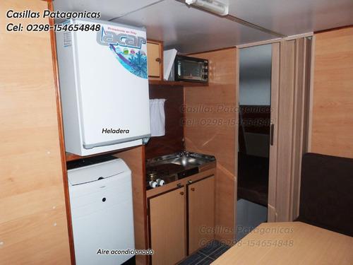 casilla rodante patagonica casa rodante 6 personas