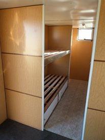 casilla rural 4,40mts, 3 camas, agua caliente